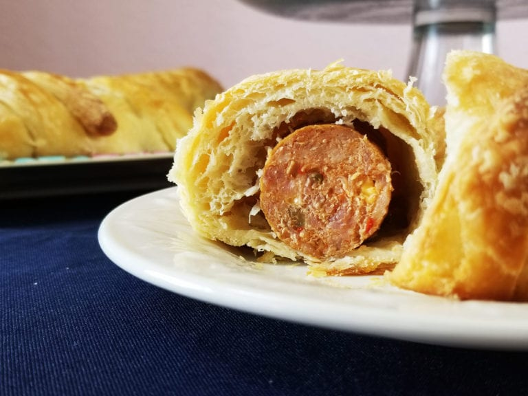 Beef and Jalapeno Pigs in a Blanket