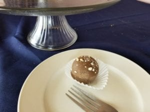 Fudge Nut Cake Balls